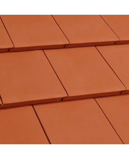 Flat Clay Roof Tile Red